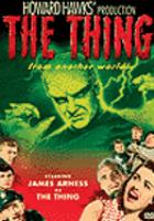 Book Jacket for: The thing ;