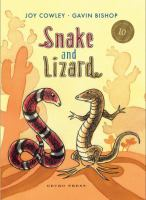 Book Jacket for: Snake and lizard