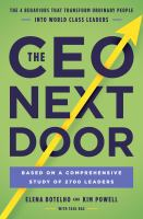 Book Jacket for: The CEO next door : the 4 behaviours that transform ordinary people into world-class leaders